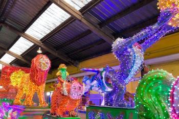 La Cabalgata la conformarán 18 carrozas iluminadas y 26 pasacalles de temática infantil