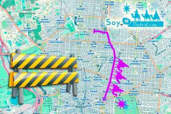 El recorrido de 'Sus Majestades' por el distrito Centro, supondrá desvíos y cortes de tráfico  desde el 4 de enero