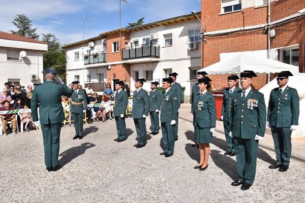 La Guardia Civil celebra el día de su Patrona junto a los villaodonenses
