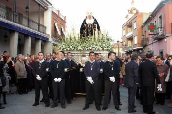 La procesión iluminará las calles fuenlabreñas el Viernes Santo, 25 de marzo, a partir de las 20:30 horas