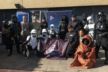Los soldados de Star Wars se alían con la Fundación Uno Entre Cien Mil en la lucha contra la leucemia