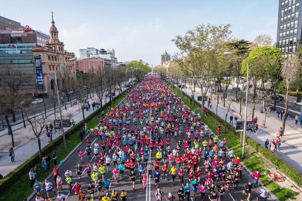 El próximo 27 de abril, la capital celebrará una nueva edición del EDP Rock 'n' Roll Madrid Maratón & Media Maratón