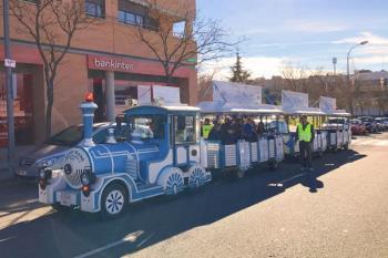 Un 'Tren del comercio' recorrerá las calles de la ciudad durante estas fiestas