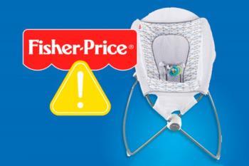 La Hamaca de Fisher-Price ha sido la primera en ser retirada del mercado