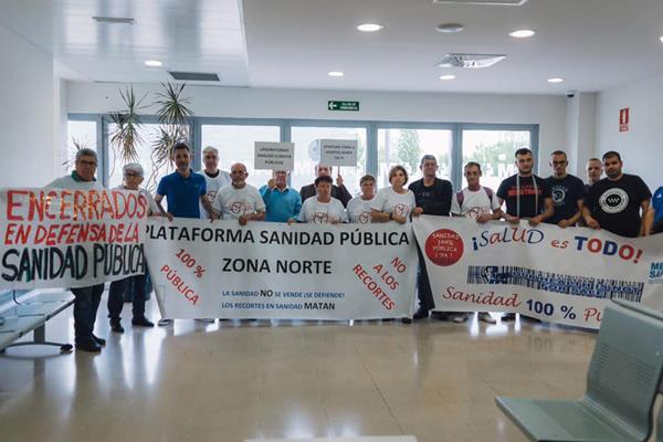"""La Plataforma Sanidad Pública insta al Gobierno regional a """"frenar los recortes"""""""