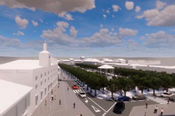 El proyecto incluye la remodelación de la calle Libreros, la Puerta de Mártires y la Plaza de Rodríguez Marín