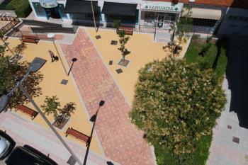 En los próximos días finalizarán, también, las obras en la Plaza de Mirasierra