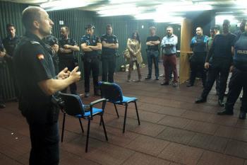 La Policía de Torrejón de Ardoz ha cedido instalaciones para realizar los ejercicios