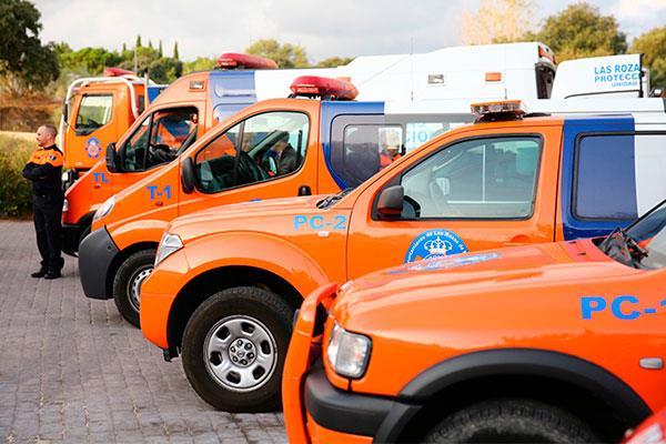La Policía Local y Protección Civil ya cuentan con nuevos vehículos