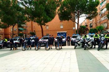 En este acto también se han presentado los 7 nuevos vehículos adquiridos por la Policía Local