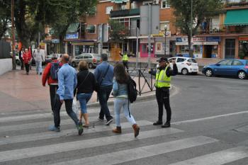 La Policía Local de Móstoles tratará de concienciar sobre la debilidad del peatón frente a los coches