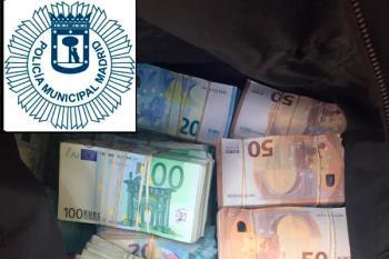Los agentes realizaban un control de alcoholemia cuando descubrieron la cantidad de dinero en un maletero