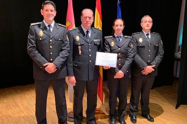 La Policía Nacional de Móstoles premiada!