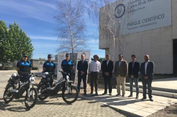 Fruto de la colaboración entre el Ayuntamiento, Bultaco y el Parque Científico UC3M
