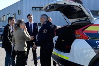 El Ayuntamiento de Alcalá ha dotado a la Policía Local de 29 nuevos vehículos y 7 motocicletas para patrullar