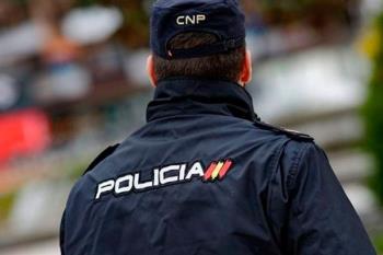 Agentes de la Policía Nacional intervenían en el suceso que tenía lugar en los aledaños de la avenida Libertad
