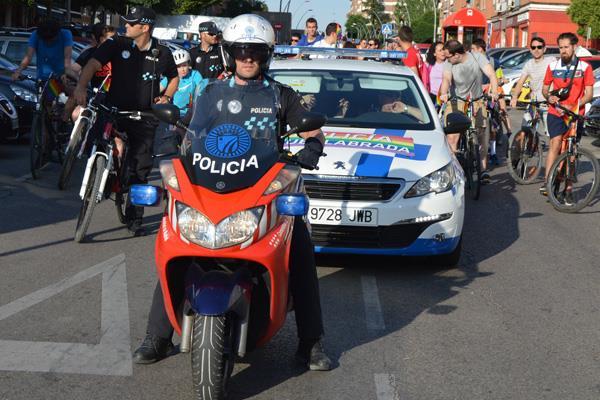 Dos agentes del Servicio de Policía Local de Fuenlabrada han sido premiados