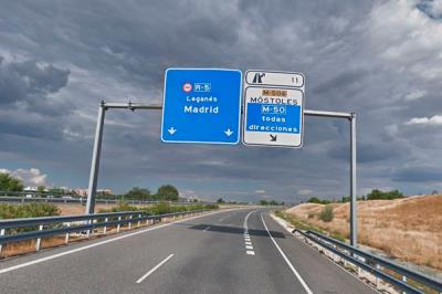 Lee toda la noticia 'La autovía de peaje R-5, gratuita en el horario nocturno'