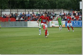 Un gol de Castiella sirvió para dar la victoria a los nuestros ante el AD San Juan de Pamplona