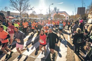 Más de 6.000 personas se dieron cita en la última carrera del año en nuestro municipio
