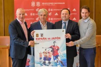 El partido amistoso entre España y Japón se disputará el próximo 3 de diciembre en el Pabellón Jorge Garbajosa