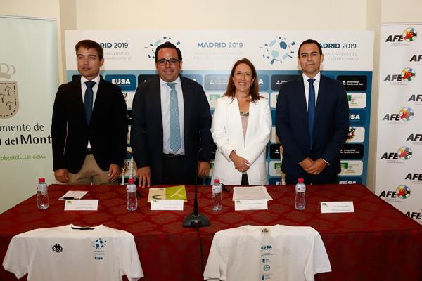 Boadilla, protagonista en el Campeonato de Europa Universitario de Fútbol 2019