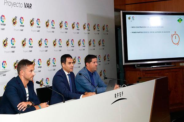 La UEFA elige Las Rozas para formar a sus árbitros en el VAR