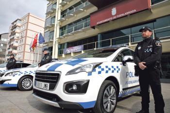 La pareja fue atacada cuando caminaba por el centro de Fuenlabrada