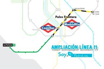 Aguado y Garrido han anunciado que el proyecto contará con 410 millones y que finalmente se ha aprobado la construcción de una estación en Carabanchel