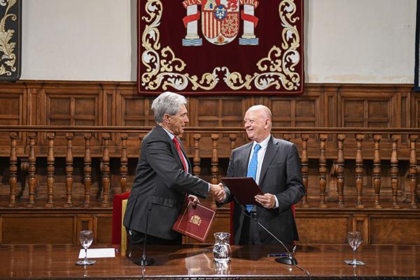 Es la undécima cátedra de la Universidad de Alcalá que respalda la Fundación