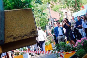 El Ayuntamiento de Madrid ha eliminado la ampliación de aceras del anterior gobierno