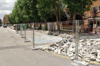 Las obras ya han empezado a ejecutarse reestructurando parte de la calle