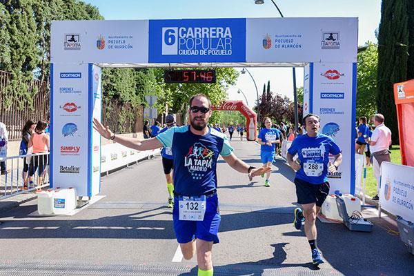La carrera popular de Pozuelo de Alarcón acogió 1.300 corredores