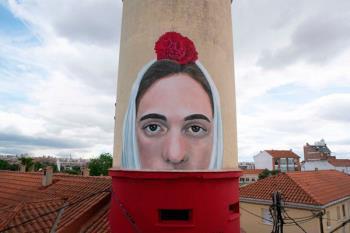 """El mural pretende alzar la voz en un área """"tradicionalmente olvidada por las Administraciones"""""""