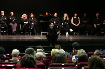 Impartida este martes 14 de enero en el Centro Sociocultural Joan Miró, contó con la asistencia de la alcaldesa Noelia Posse