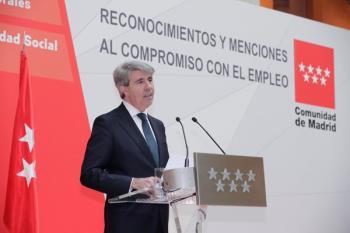 Ángel Garrido hace balance tras el Consejo de Gobierno acompañado por Rollán e Ibarrola