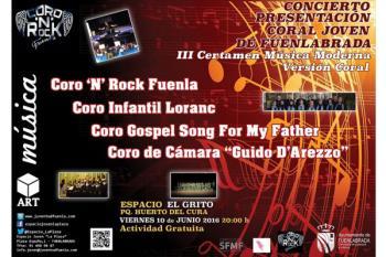 El concierto se hará el día 10 de junio a las 20:00 h. en el Espacio El Grito en Fuenlabrada