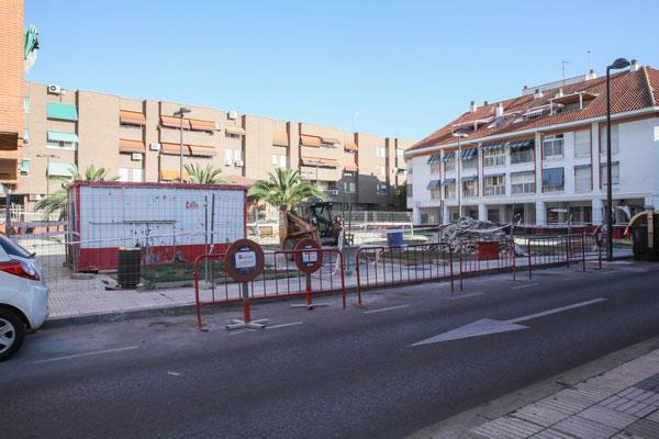 La cubierta y el aparcamiento de la Calle Fuenlabrada serán remodeladas