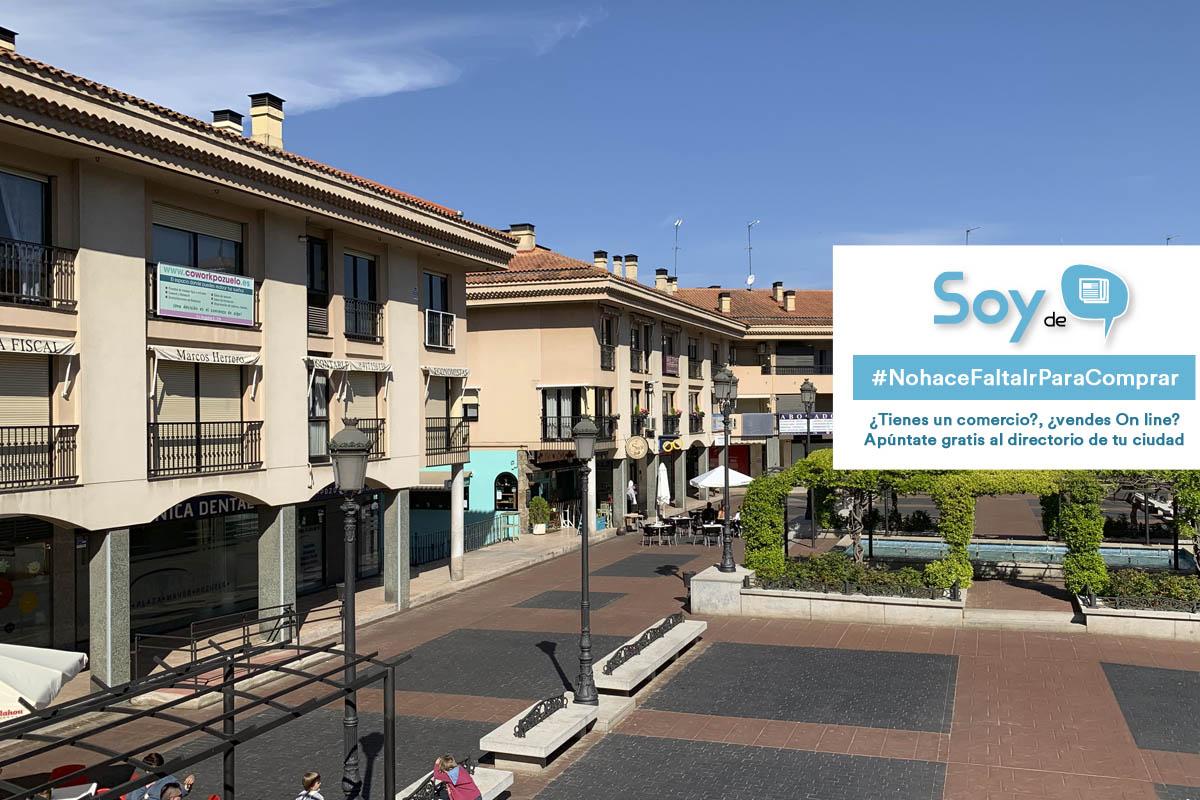 Para apoyar a los comercios de Pozuelo, Soyde. lanzan la campaña 'No hace falta ir, para comprar'
