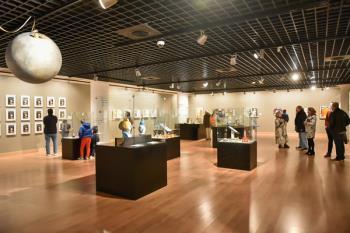 La muestra dedicada a Tintín se podrá visitar hasta el próximo 31 de enero