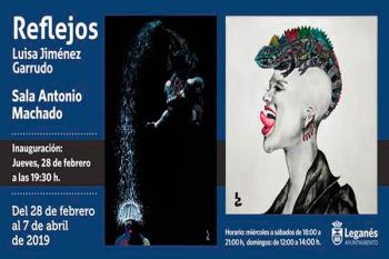 La Sala Antonio Machado albergará una veintena de obras de la artista