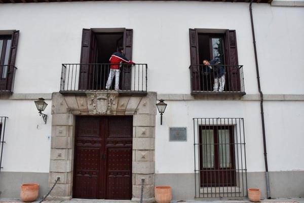 La fachada del Palacio de Godoy, a estrenar