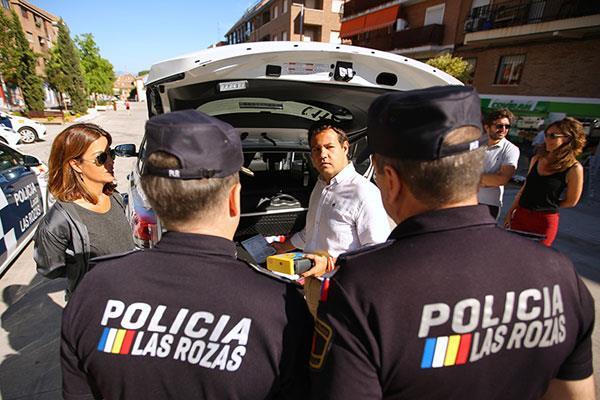 La flota de vehículos de la Policía local, renovada