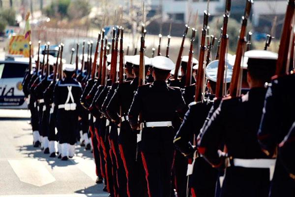 El pasado sábado se celebró un acto que contó con la presencia de la Compañía Mixta de Honores de la Armada