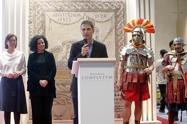 La historia de Complutum, eje principal de la promoción turística de Alcalá en FITUR