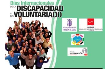 Torrejón fomenta la integración de las personas con discapacidad los días 3 y 5 de diciembre