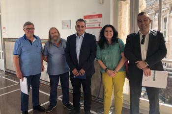 Corpa se ha reunido con el viceconsejero de Transportes, Vivienda e Infraestructuras de la Comunidad de Madrid, Antonio López, para buscar soluciones