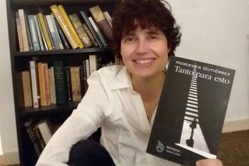 La escritora Mercedes Gutiérrez nos presenta 'Tanto para esto', novela con la que ahonda en el precio del codiciado éxito