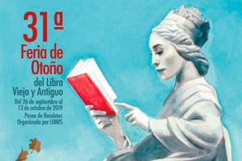 Hasta 13 de octubre se instala en Recoletos la Feria de Otoño del Libro Viejo y Antiguo