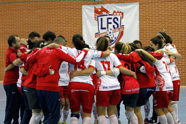 El Leganés F.S. está cargado de moral tras el pase a los cuartos de Copa de la Reina